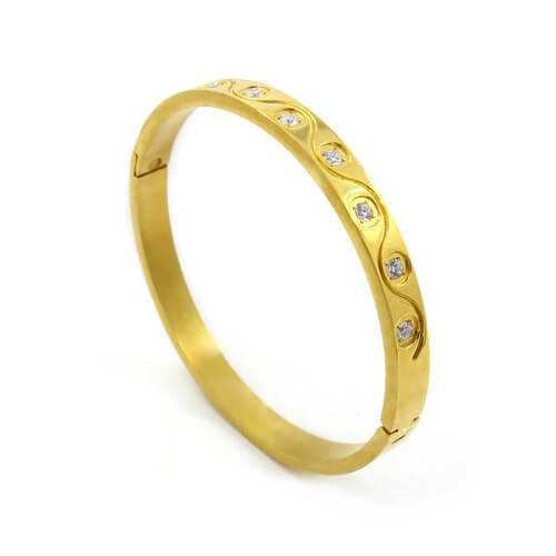Gold Plated Bangle1